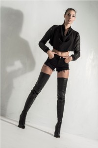 sexy thigh high boots - crotch style