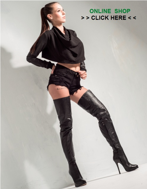 sexy thigh high boots online shop