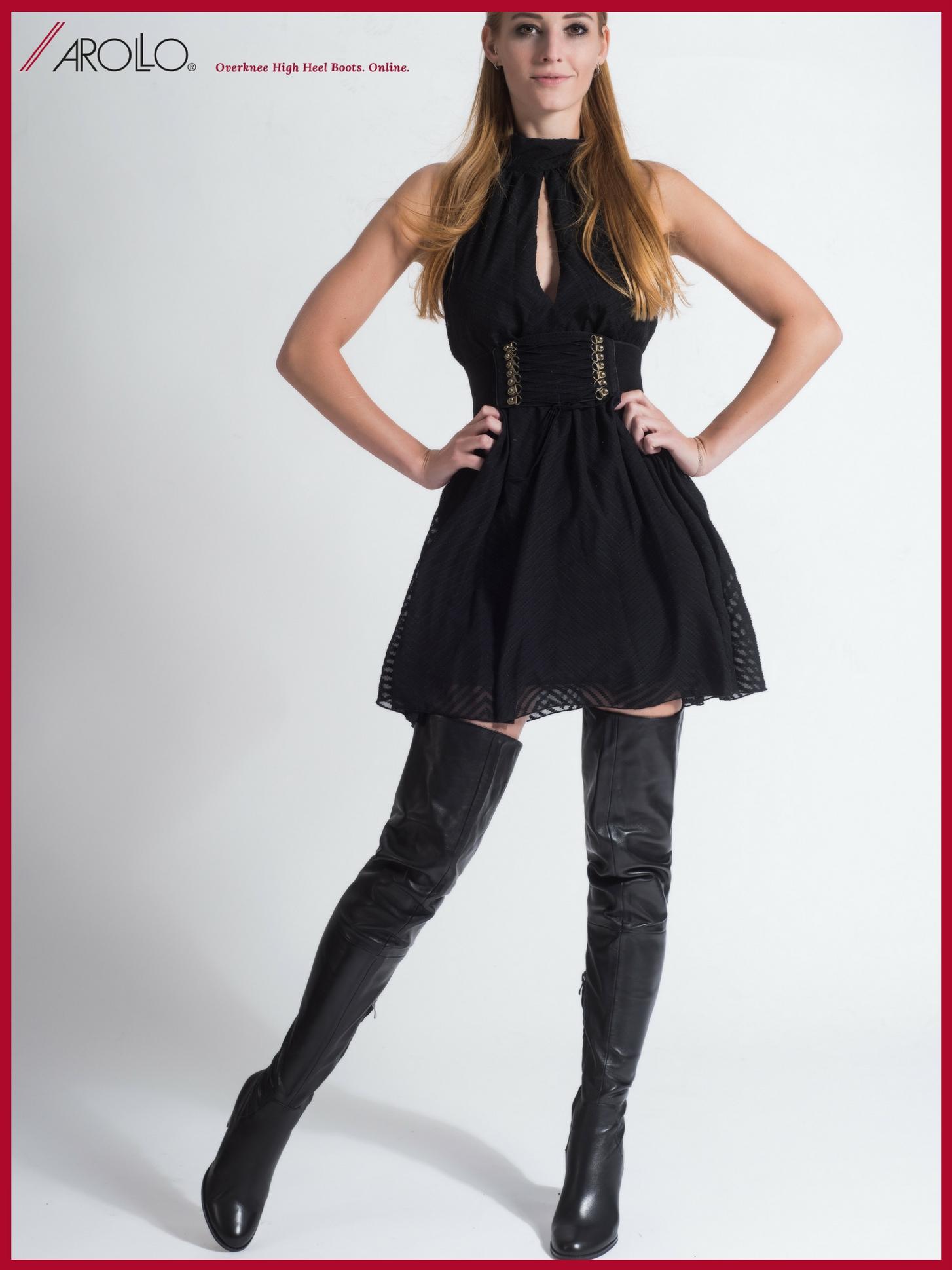 Arollo Leather Heeled Boots AROLLO-Thigh-High-Crotch-Boots-Victoria-II