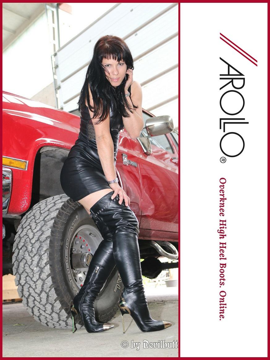 AROLLO Thigh High Boots Lady Vanessa II