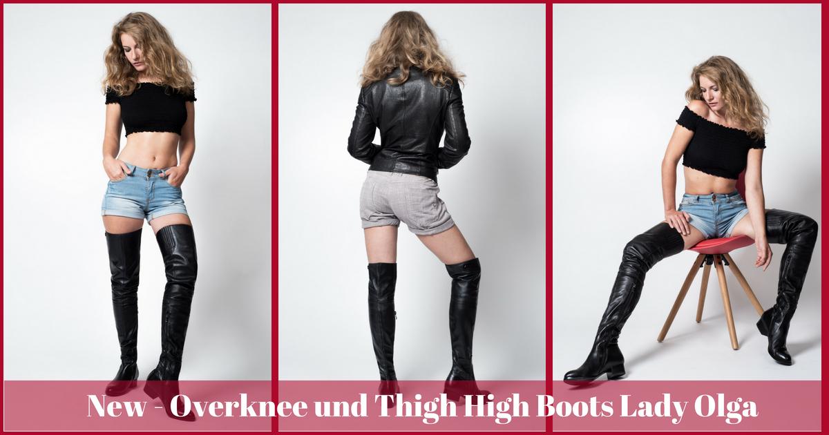 AROLLO Overknee Stiefel » Blog Archiv Luxus Overknee Stiefel