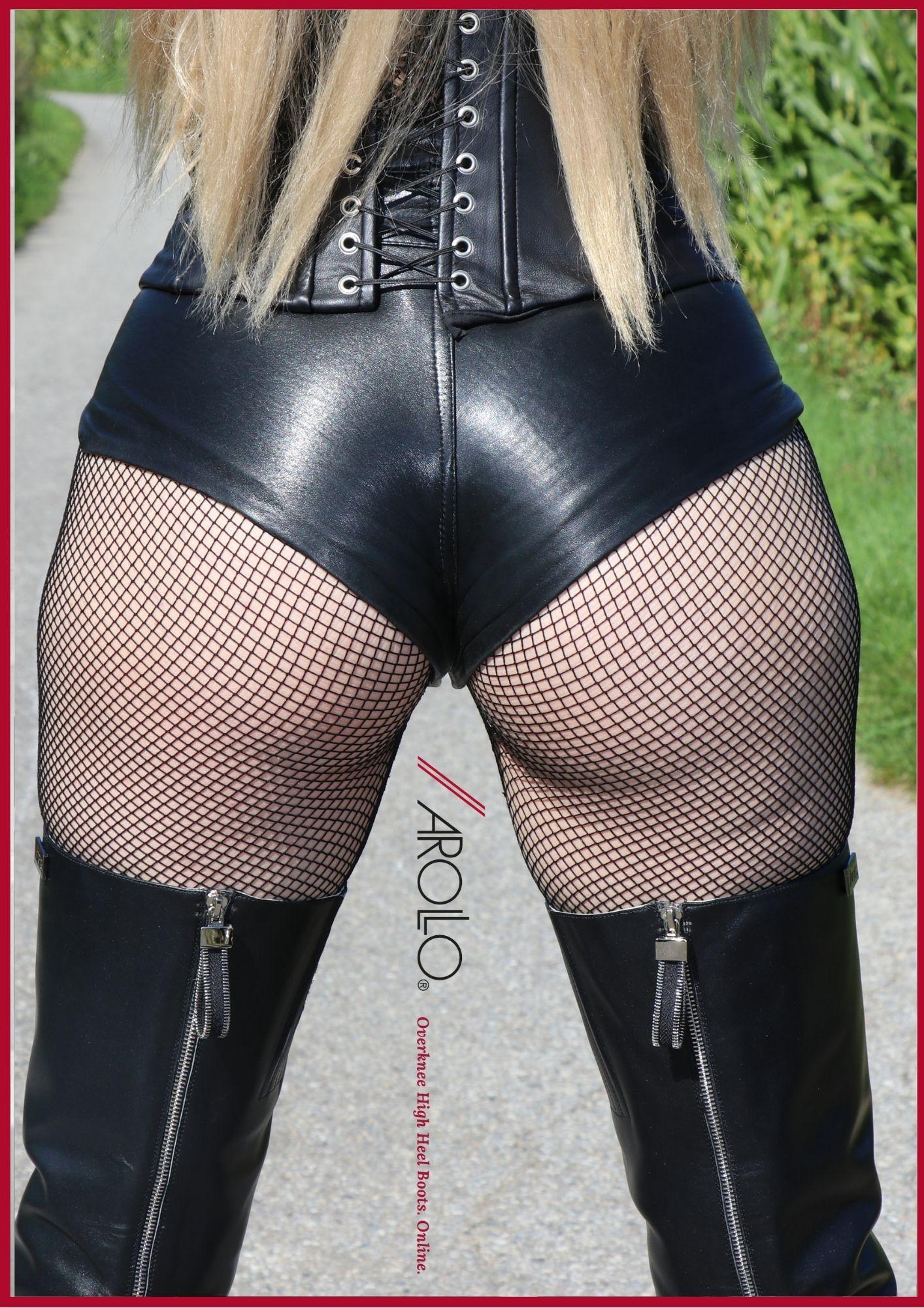 Full length zipper boots by AROLLO