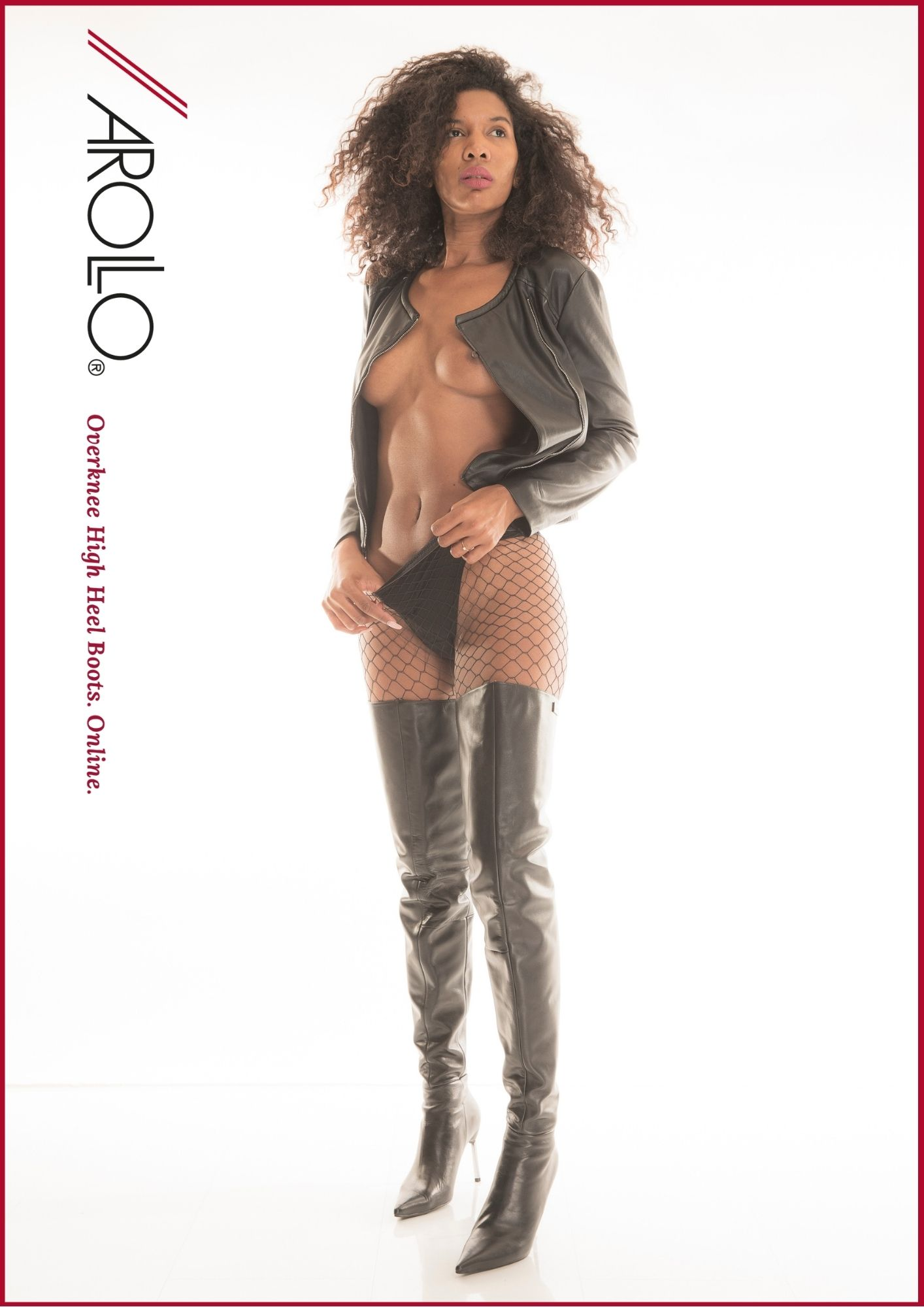 Crotch boots by Arollo