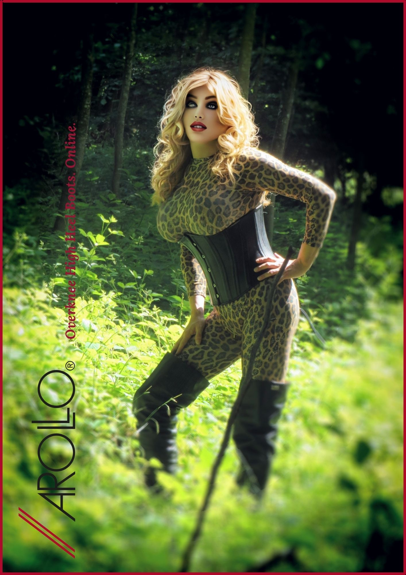 In the wood with Mistress Alegra